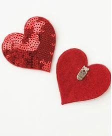 Clip on love heart. #love #valentines #heart