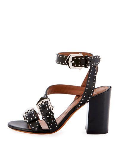 194e5053d1c X4BTF Givenchy Studded Block-Heel Sandals