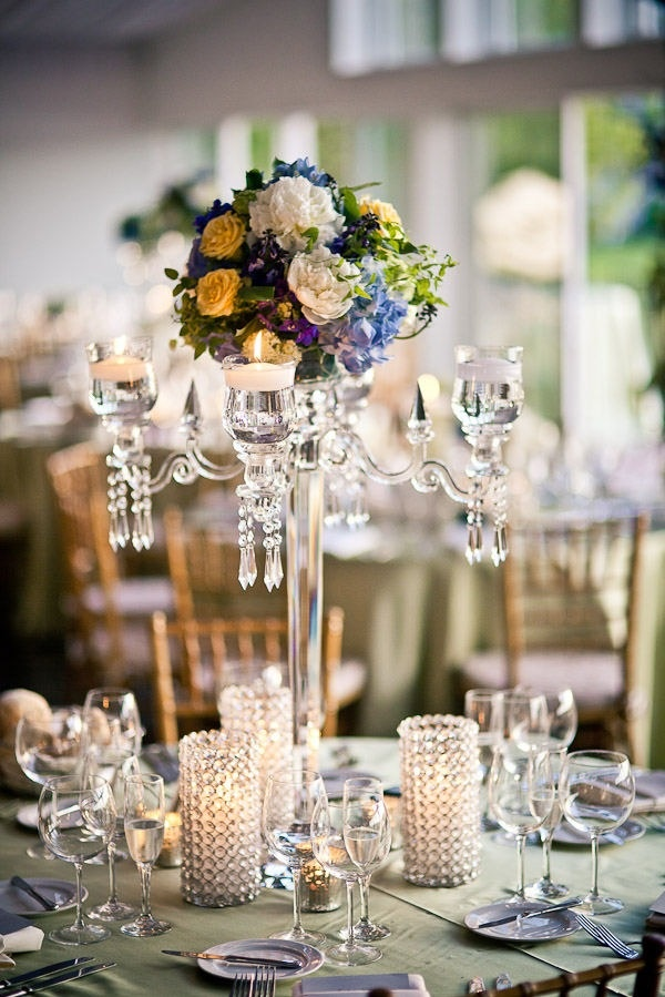 117 best candelabras stands images on pinterest candelabra summer wedding centerpiece junglespirit Images