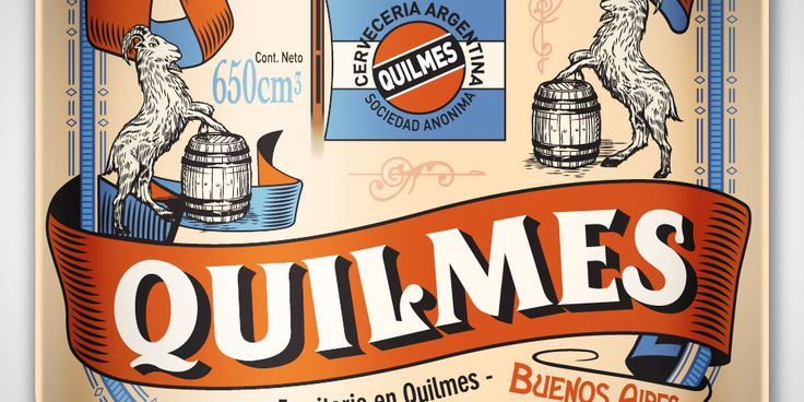 Argentina, Cerveza Quilmes Beer. Now there's a temporary solution.