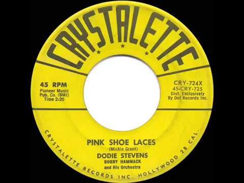 1959 HITS ARCHIVE: Pink Shoe Laces - Dodie Stevens - YouTube