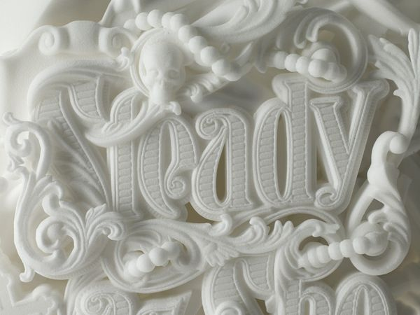 Is this real?Sculpture, Mtv, Logo, 3D Character, Absolute Vodka, 3D Prints, Design Studios, Jim Beams, 3D Typography