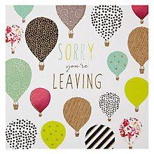 Buy Portfolio Balloons Leaving Card Online at johnlewis.com