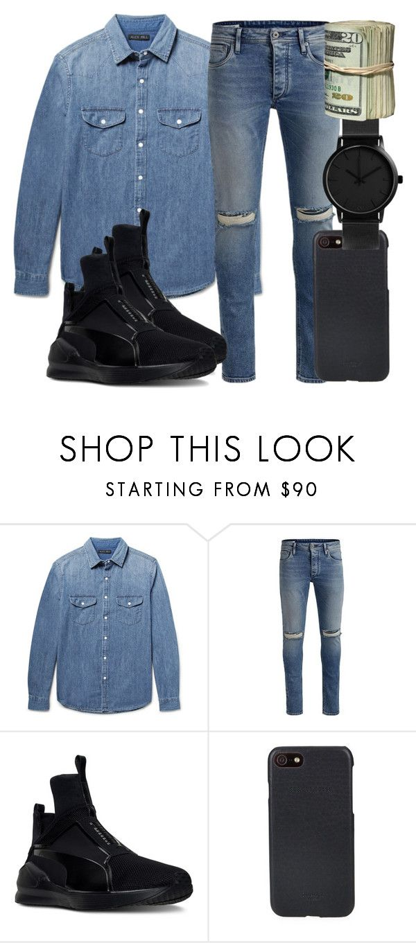 """""""& Another One"""" by bxbysnoop ❤ liked on Polyvore featuring Alex Mill, Jack & Jones, Puma, Shinola, men's fashion and menswear"""