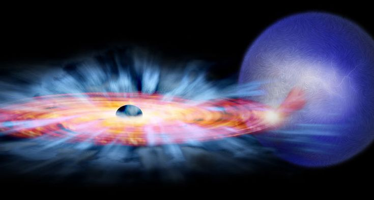 nice Magnetism is helping black holes blow off fuel