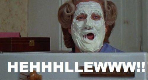 Mrs Doubtfire!: Great Movie, Funny Movie, Mrs Doubtfire, Best Movie, Good Movie, Movie Quotes, Favorite Movie, Doubtfire 3, Robins Williams