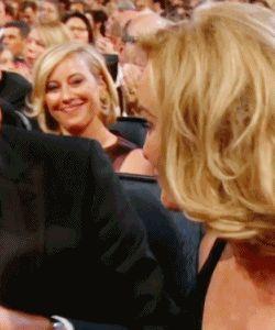 Staaaaph! Ya killing me. <3 Jessica Lange & Danny Huston, Emmys 2014