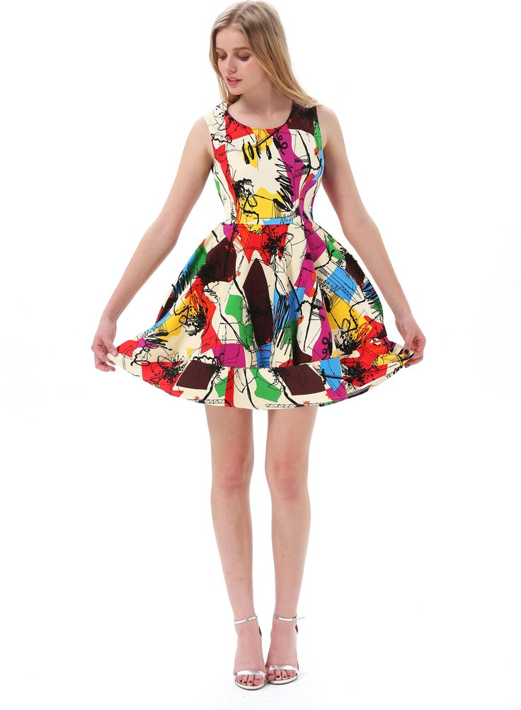colored-short-party-dress