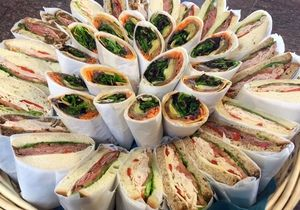 veggie wraps and signature butcher block sandwiches with premium deli meat from scratch. #ScratchKitchen Corporate Source Catering restaurant on Zuppler.com | Restaurant Food Delivery | Order Online http://www.zuppler.com/restaurants/corporatesourcecatering #philadelphiaCatering #mainlineCatering #buxmontCatering