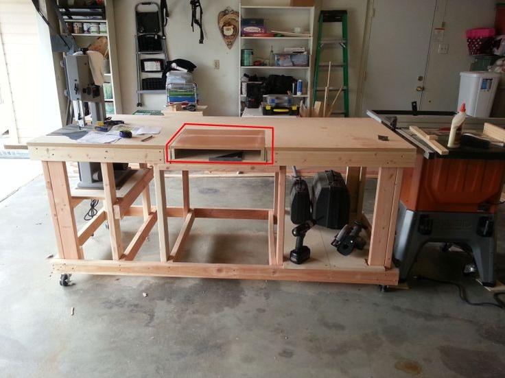 Work Bench | Work Bench | Garage remodel, Garage house, Garage