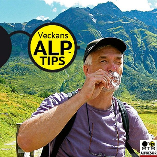 Vandringstips 3: För den som vandrar i Österrike är, hur konstigt det än låter, EN SNAPS en del av vandringskulturen. Testa gärna de lokala snappsarna som Zirben (kottesnaps) eller Entzian (snaps gjort på den gulprickiga gentsianan) men kom ihåg: snapsen ska bitas av minst 4 gånger.  Snapsen gör de själva och den tas efter lunchen som en digestiv. Hutt hutt! :) #stsalpresor #hiking #mountains #vandra #schnaps #hutthutt