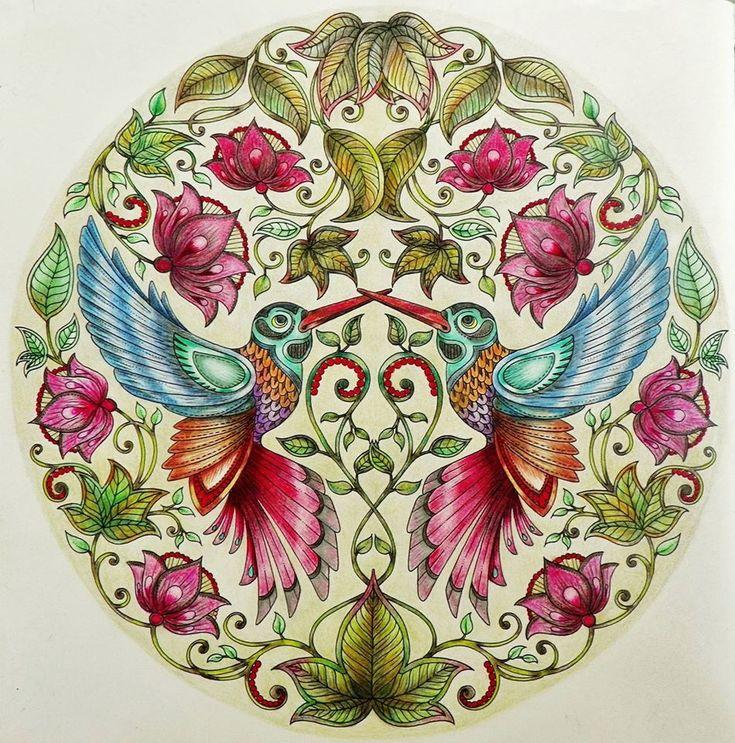 flores jardim secreto: Jardim Secreto, Floresta Encantada e outros livros de colorir para