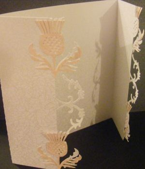 Image detail for -Craft Robo Gsd File Template Scottish Thistle Wedding Invite 2 - £1 ...