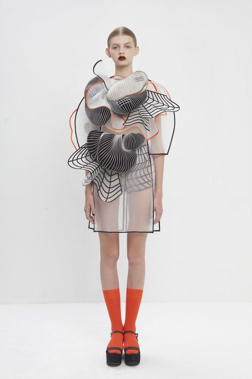 Noa Raviv Graduate Collection 2014 - 3D printing