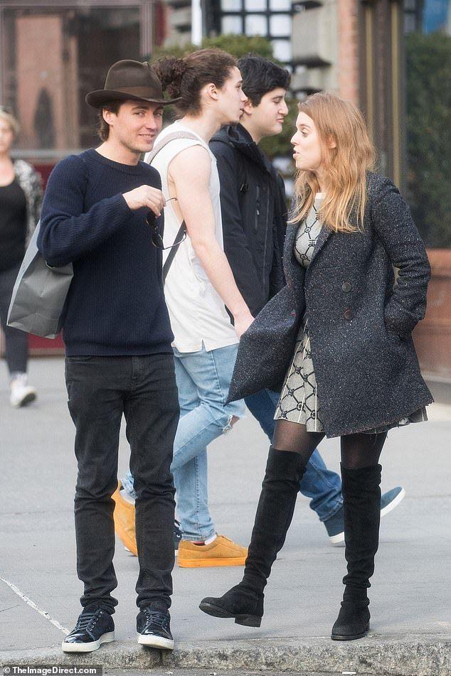 Princess Beatrice looks loved up with boyfriend Edoardo