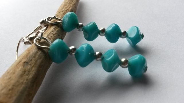 Earrings Might be turquoise £2.50