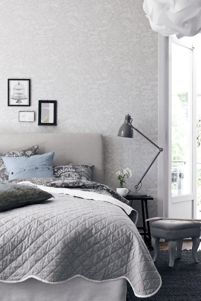 blå grå sovrum - Google Search