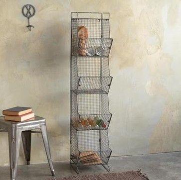 Wright's Peak Tall 4-Bin Coop - modern - storage and organization - Sundance Catalog
