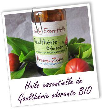 Fiche technique huile essentielle de Gaulthérie odorante BIO - Gaultheria fragrantissima