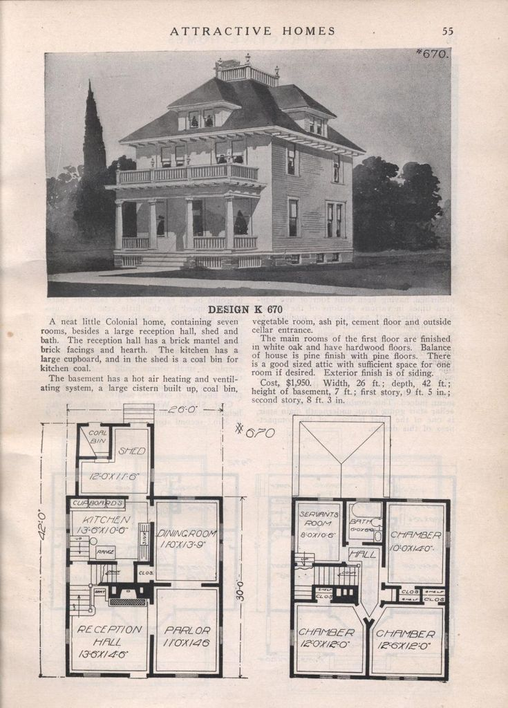 2369 best 1800s1940s House plans images on Pinterest Vintage