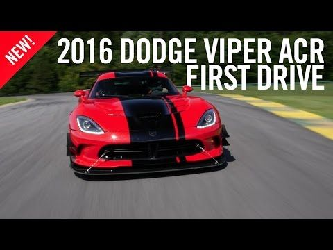 2016 Dodge Viper ACR Review First Drive. The Dodge Viper is one of the world's greatest remaining analog supercars. Front engine, rear drive, manual gearbox, it's perfection, at least for a certain segment of car enthusiasts. This latest version of the Dodge Viper is the ACR, which stands for American Club Racer, and it's the most hardcore and fastest Viper ever made.