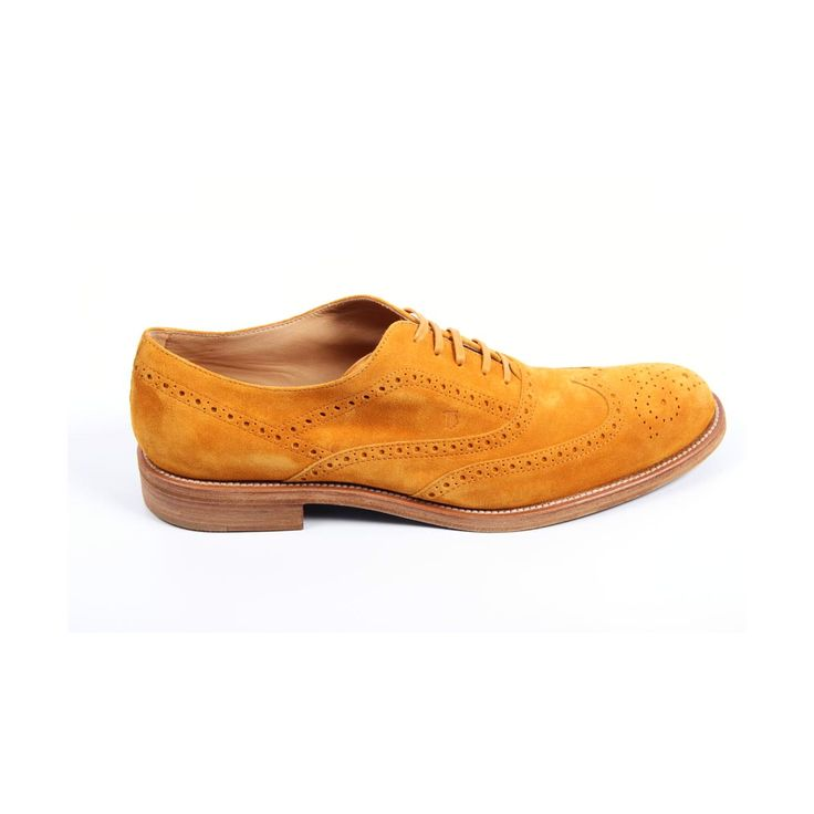 Tod's mens brogue shoes XXM0QM0G370RE0G812
