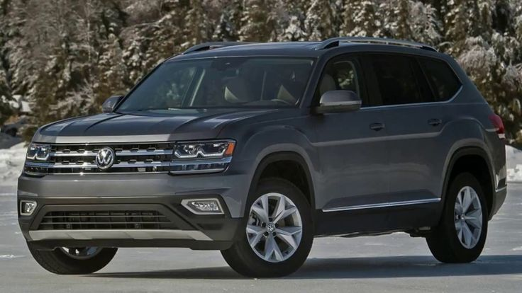 2018 VW Atlas SUV FIRST DRIVE REVIEW | 2018 Volkswagen Atlas First Drive