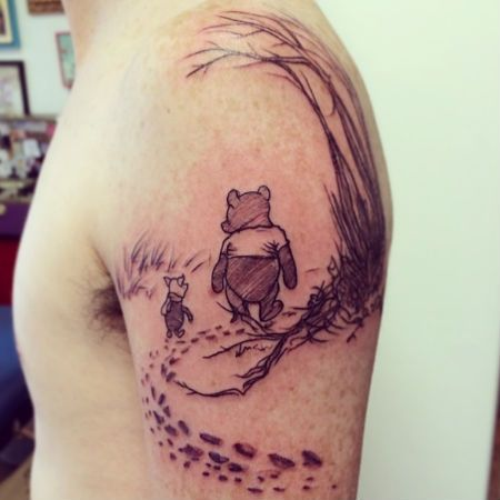 Winnie the Pooh by A. A. Milne (source: Buzzfeed / image via sweetdarcilove Instagram account