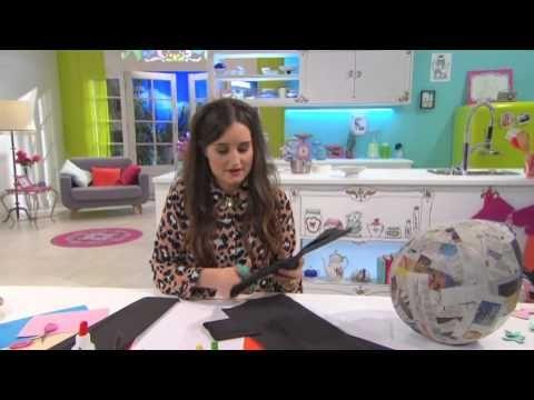 Jill - DIY: Maak je eigen pinata voor een verjaardagsfeestje! - YouTube