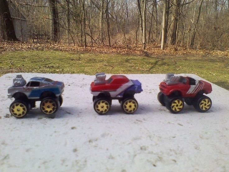 Micro Machines Super 4X4 Monster Cars Galoob 1989 TransAm Mustang Camaro        #MicroMachines #Mixed