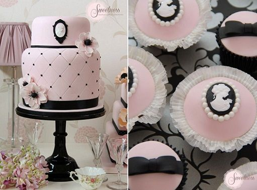 cameo cakes and cupcakes from Sweetness Cakes & Confectionery