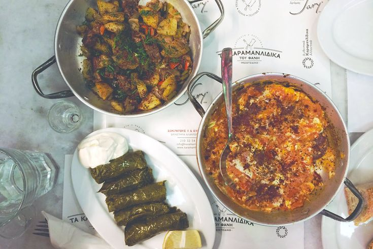 Foodie highlights  Where to eat in Athens | Tails of a mermaid at Karamanlidika tou Fani