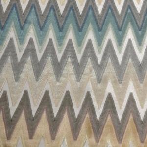 Missoni Markowa Tenda Fabric #131 via Safari Living #fabric #multicolor #blue #grey #brown