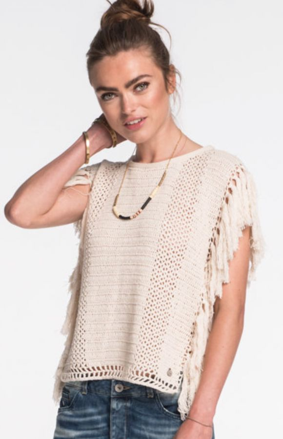 scotch & soda crochet top