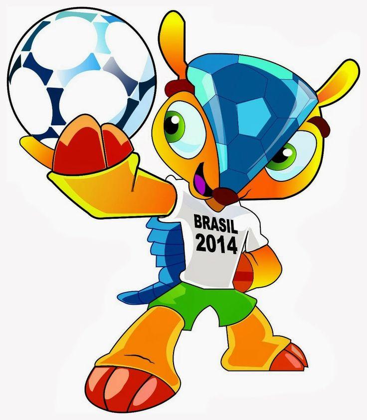 Maskot piala dunia brasil 2014