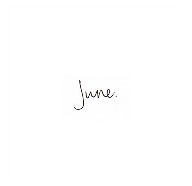 it's my month! ok so I was late and born in July...but the name stuck.
