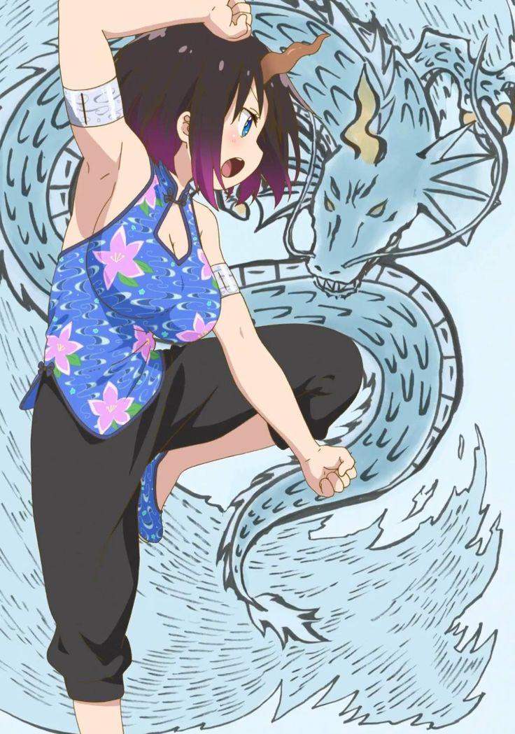 Image result for kobayashi dragon maid fanart