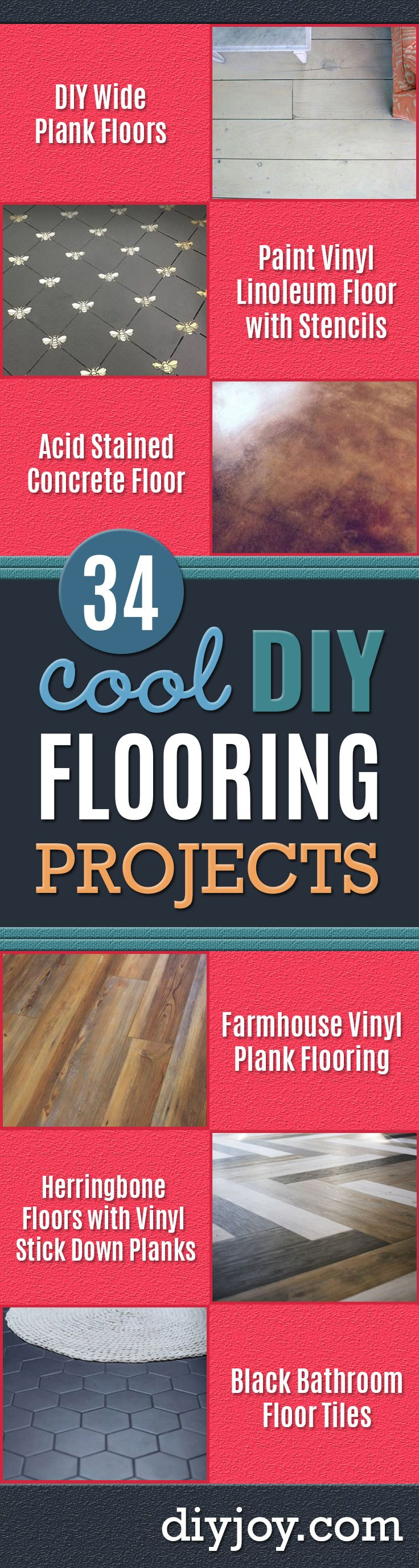 63 best diy flooring images on pinterest home ideas flooring and 34 diy flooring projects that will transform your home solutioingenieria Gallery