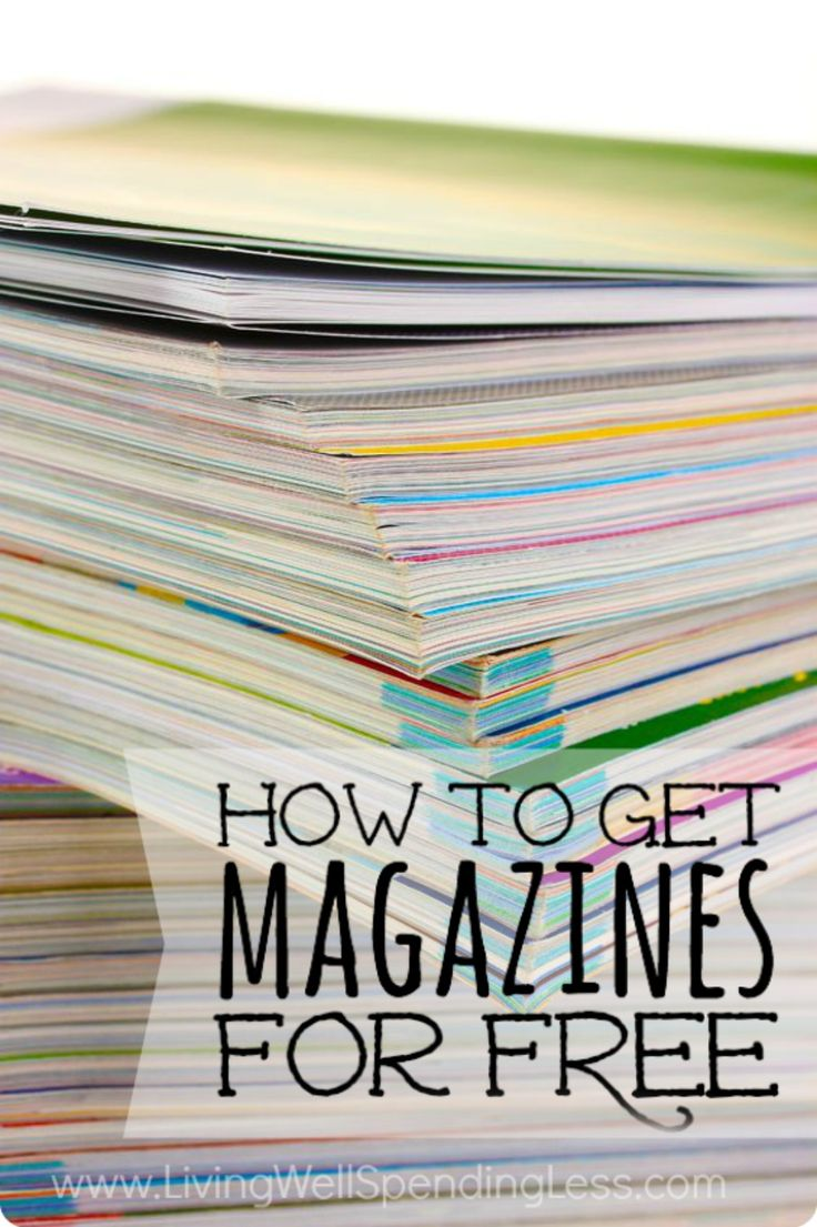 Love reading magazines but don't want to pay full price?  Don't miss these six smart but simple ways to get all your favorite magazines absolutely free!