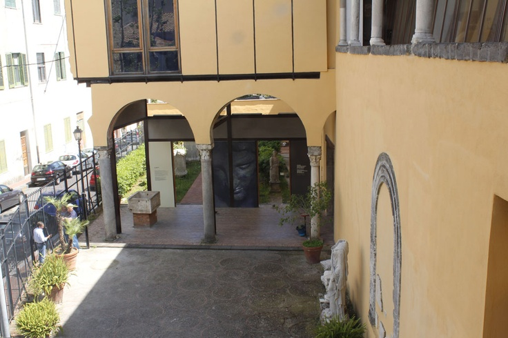 ingresso del museo...