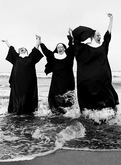 Nuns Having Fun... they never looked like this when I was in school. #happiness #wishes