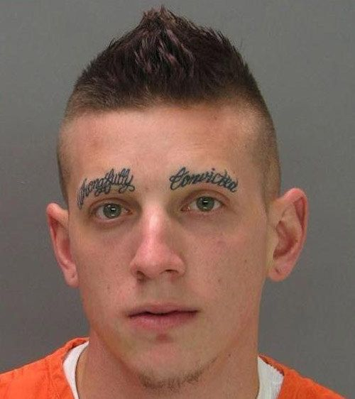 This wrongfully convicted artiste. | 43 People Whose Eyebrows Are So Bad They're Actually Works Of Art