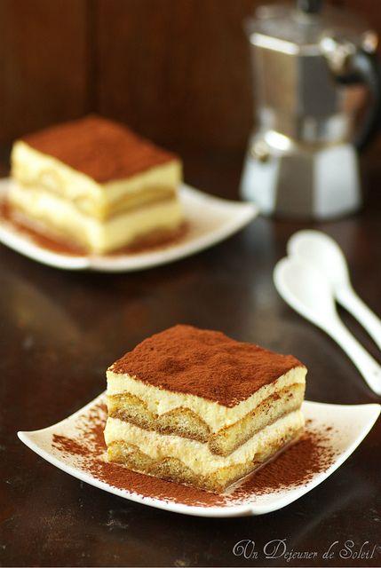 Tiramisù classique au café et mascarpone (et ricotta)