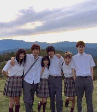 [MV, orange ver, Dec/06/15] https://www.youtube.com/watch?v=nwhkIfS8b6E&feature=youtu.be Kobukuro -- Mirai (Future), orange theme song, Tao Tsuchiya, Kento Yamazaki, Ryo Ryusei, Dori Sakurada, Hirona Yamazaki, Kurumi Shimizu, Release: 12/12/'15