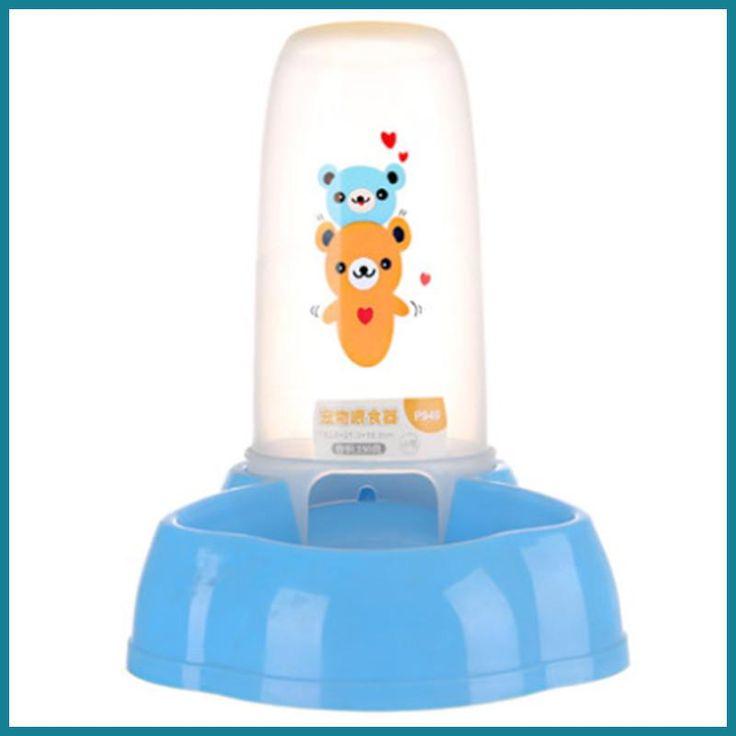 slow water fountain dogs bowl borse per cani cosas para perros conejo small plastic drinking bottle rabbits dog travel WWM590