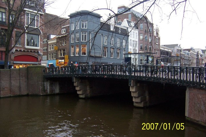 The canals of Amsterdam, Netherlands.
