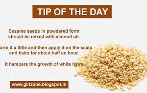 Tip Of The Day To Stop The Growth Of White Hairs Naturally