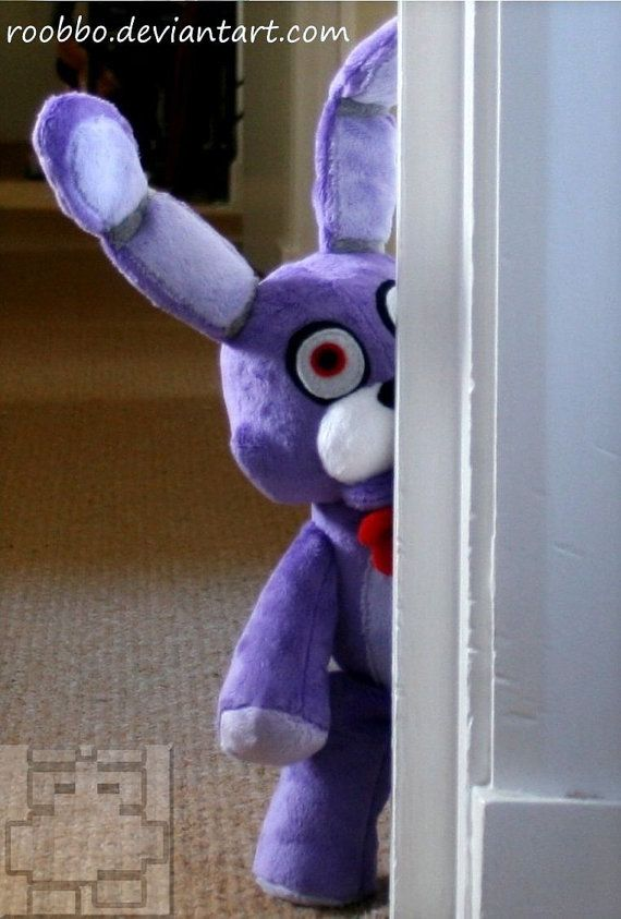 Five Nights At Freddy's Bonnie Plush by Roobbo on Etsy