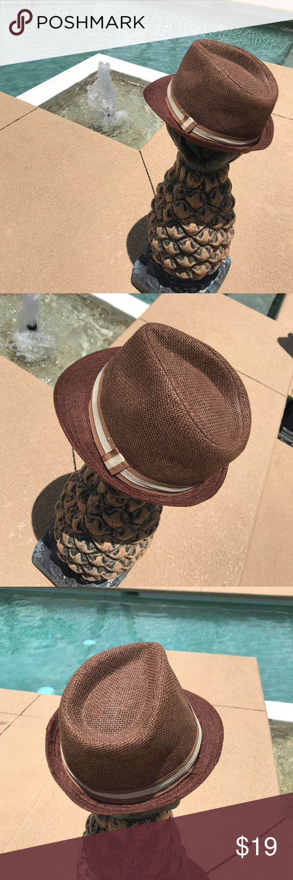 Trendy straw fedora hat 👒👒👒 Trendy straw fedora hat 👒👒👒 Accessories Hats