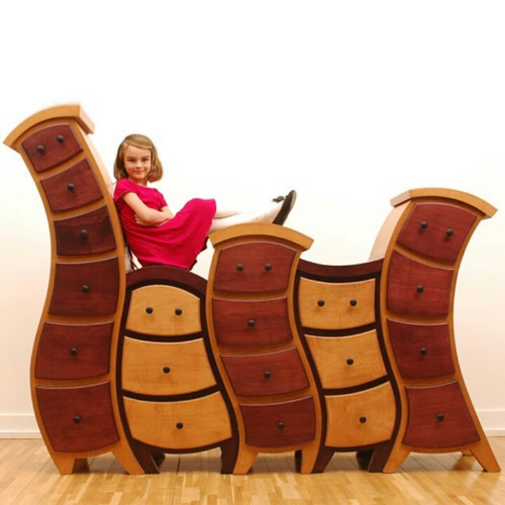 Alice in Wonderland furniture